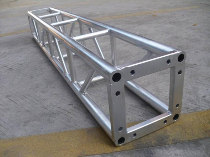 Triangle 10 Foot Aluminum Spigot Truss , DJ Outdoor Performance Stage Lighting Truss Systems