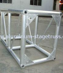 China 6061 400mm Exhibition Lighting Aluminum Spigot Truss Hard With Air Bubble Film supplier