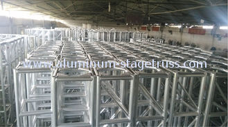China Triangle 10 Foot Aluminum Spigot Truss , DJ Outdoor Performance Stage Lighting Truss Systems supplier