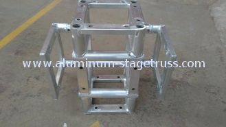 China Fixed Square 6061-T6 Aluminum Spigot Truss , Quick Lock Portable Stage Lighting Truss supplier