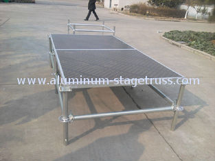 China Portable Mobile Double Layer Stage , Wedding Events Modular Layer Truss supplier
