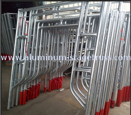 China Custom Safety Modular Frame Scaffolding System Multifunction Floor Type supplier