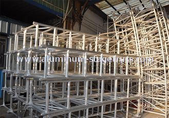 China Aluminum Scaffolding Stage Lighting Modular Truss System Rust Resistance supplier