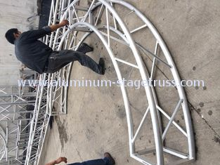 China Deluxe Portable Curved Exhibition Truss System Aluminium Anti - Corrosive supplier