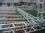 Good Quality Aluminum Stage Truss & Alloy 6082 T6 Aluminium Alloy Truss With Spigot Connection Heavy Load Capacity on sale