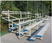China Recyclable Temporary Portable Indoor Bleachers , Classic Aluminum Stadium Bleachers factory