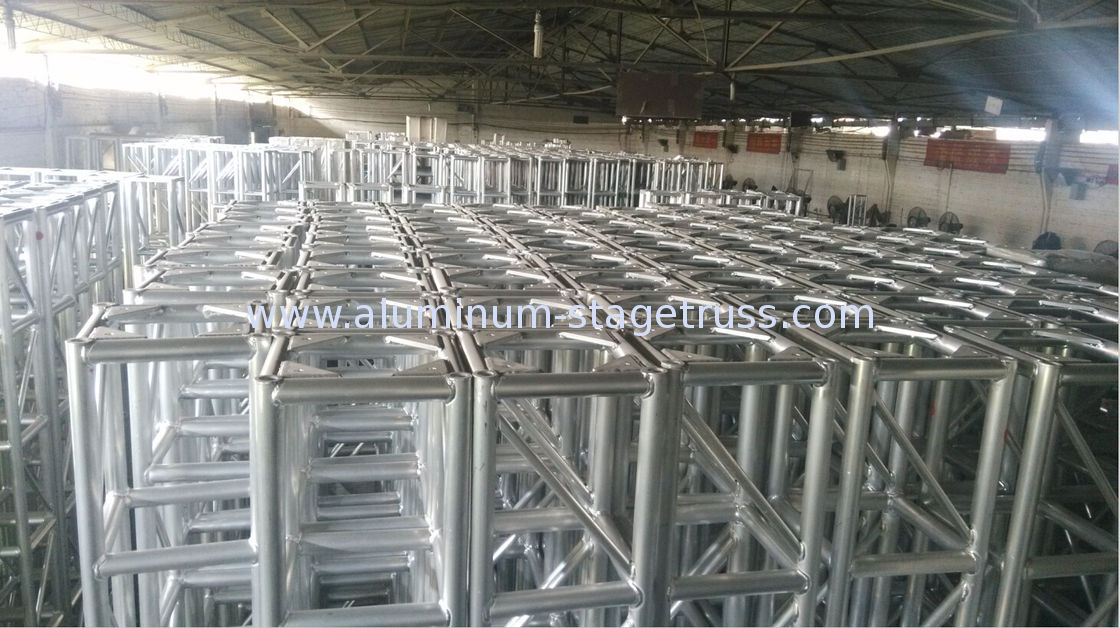 diy portable stage small stage lighting truss. China Triangle 10 Foot Aluminum Spigot Truss , DJ Outdoor Performance Stage Lighting Systems Supplier Diy Portable Small
