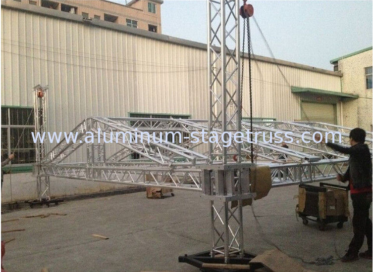 & Square Smart Stage Aluminum Lighting Truss Light Weight For Exhibition azcodes.com
