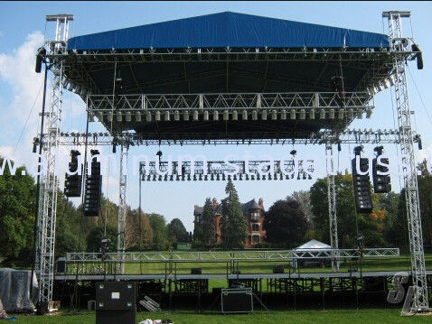 Concert Used Truss Tower Outdoor Aluminum Stage Lighting
