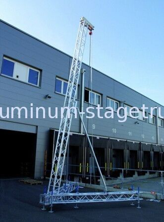 China Safety Square Audio Speaker Stage Aluminum Truss For Line Array Hanging Supplier
