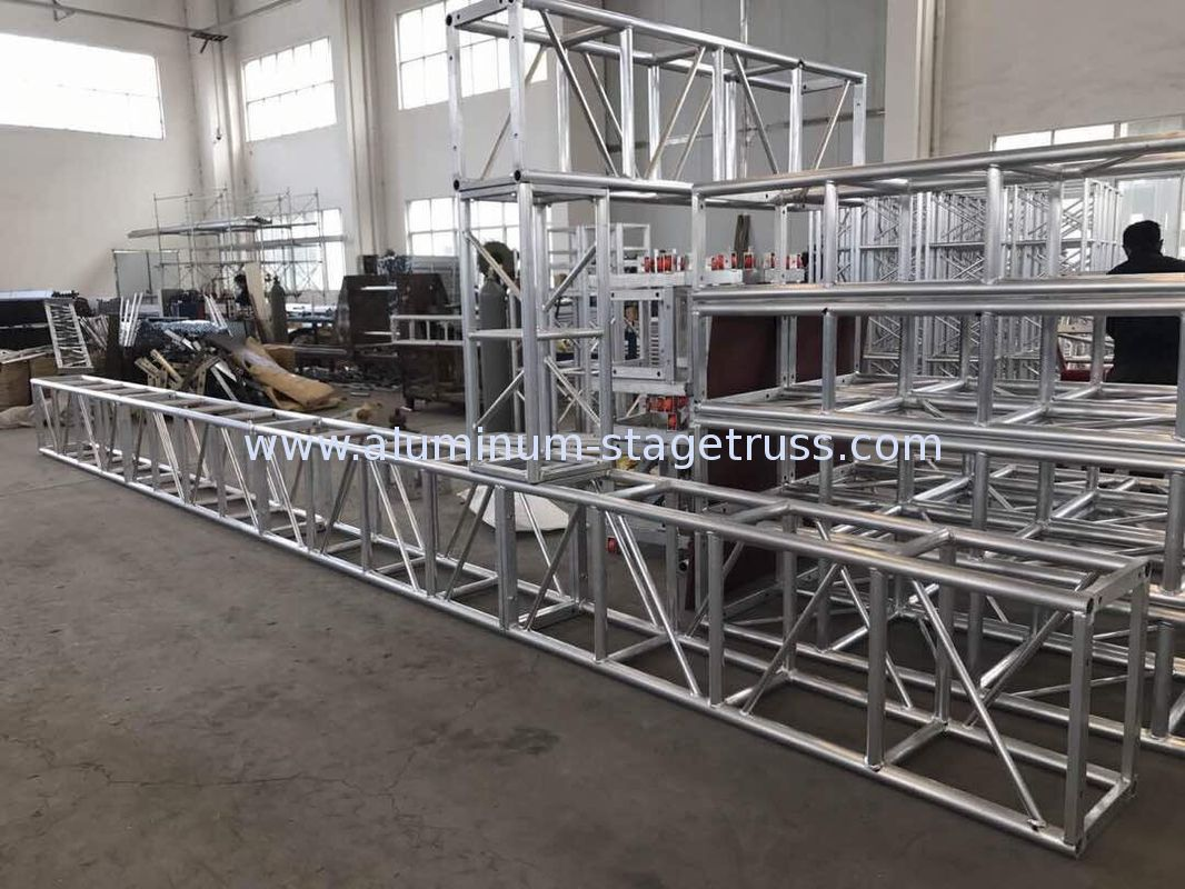 lighting ft triangle tower system base stage dj products dual truss totem club single