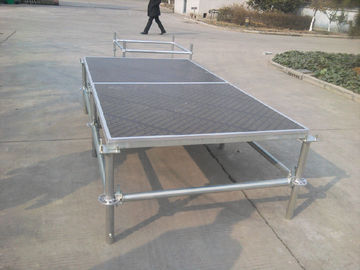 China Portable Mobile Double Layer Stage , Wedding Events Modular Layer Truss distributor