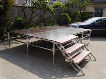 China Lightweight Unique Layer Aluminum Truss Stage Folding Heavy Load Capacity distributor
