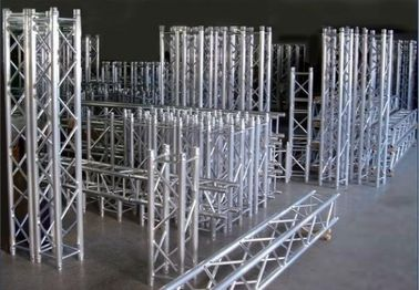 China Outdoor Concert Stage Aluminum Box Truss Spigot Type Durable Heavy Loading Capability distributor