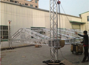 China Square Smart Stage Aluminum Lighting Truss Light Weight For Exhibition distributor