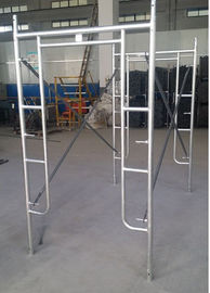 China Mason Frame Safety Portable Scaffolding Systems Easy Assembly With Slide Lock distributor
