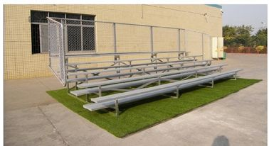 China Durable 3 Row Aluminum Portable Bleachers Grandstand Retractable Bleacher Seating distributor