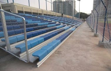 China Indoor Portable Grandstand Seating Anti - Corrosion Heavy Loading Capability distributor
