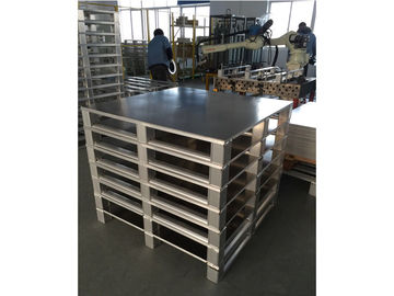 China Light / Medium / Heavy Duty Aluminum Pallets For Unclear Industry Customized distributor
