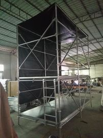 China Custom Layer Truss and Movable Stage Platform Station for Stadium Lighting Tower Truss distributor