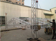 Square Smart Stage Aluminum Lighting Truss Light Weight For Exhibition