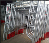 Custom Safety Modular Frame Scaffolding System Multifunction Floor Type